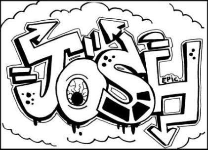 doodle name joshua excellent resource for graffiti free