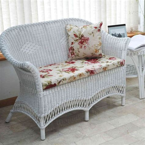white garden sofa white wicker sofa sofa design ideas outdoor patio white