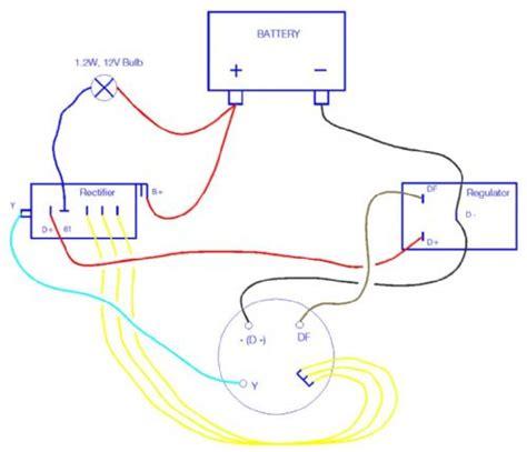 bosch rectifier wiring diagram suzuki motorcycle