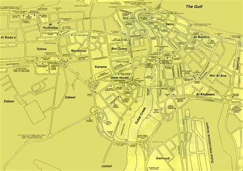 Maps of dubai