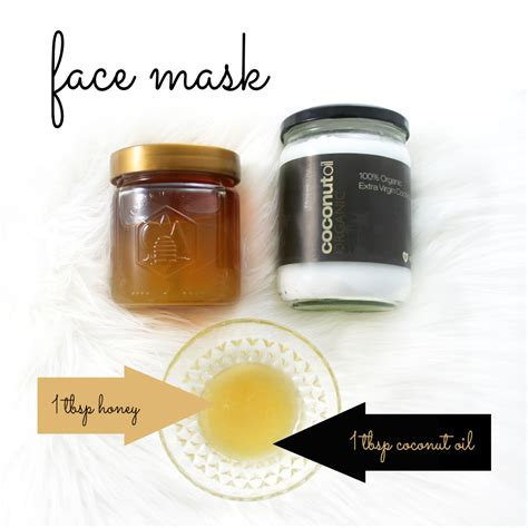 diy honey mask coconut masks going evergreen
