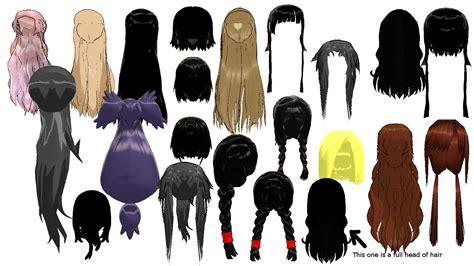 hair mmd download mmd random hair pack 2 dl by 2234083174 on deviantart