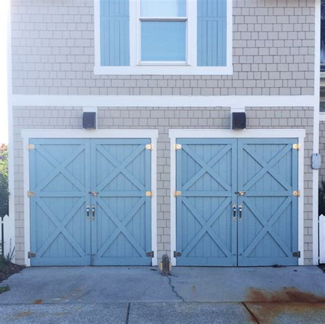 blue garage door wilmington and bald island em for marvelous