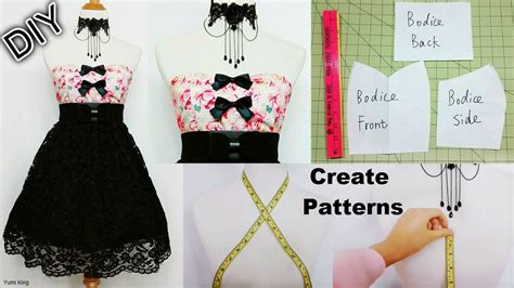 dress pattern making youtube yumi king yumiking21 twitter