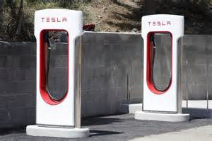 Electric Car Charging Station Setup Tesla To End Unlimited Free Use Of Supercharging Stations