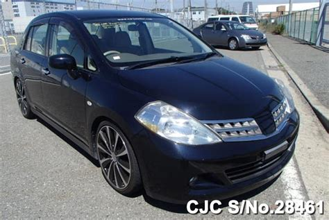 nissan tiida black 2008 nissan tiida latio black for sale stock no 28461