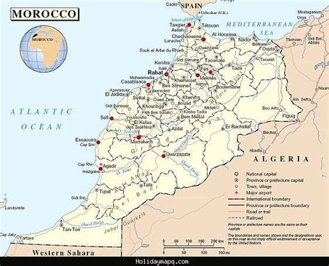 map of tourist attractions 2 maps update 728752 morocco tourist attractions map