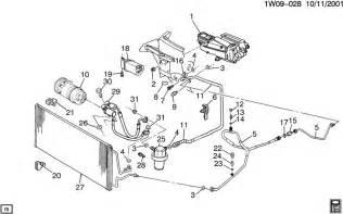 C Chevrolet Parts Chevrolet Impala A C Refrigeration System