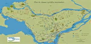 cycling maps of montreal free printable maps
