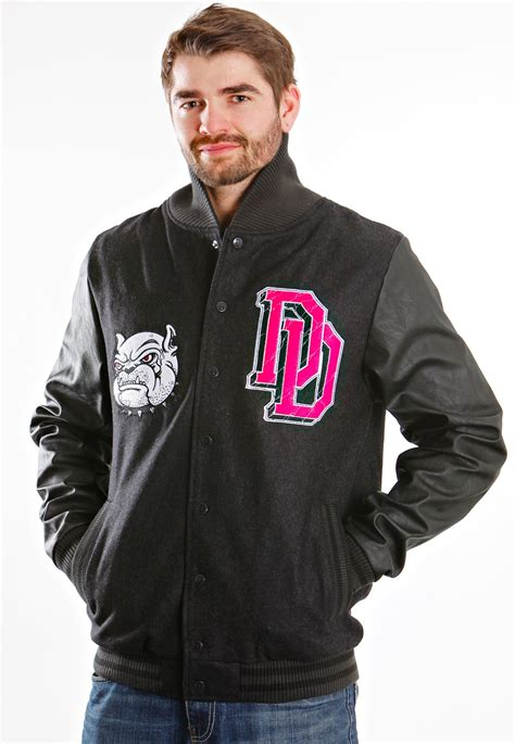 Jaket Drop Dead Tiger Black drop dead cool for school black sleeve varsity college jacket boys impericon