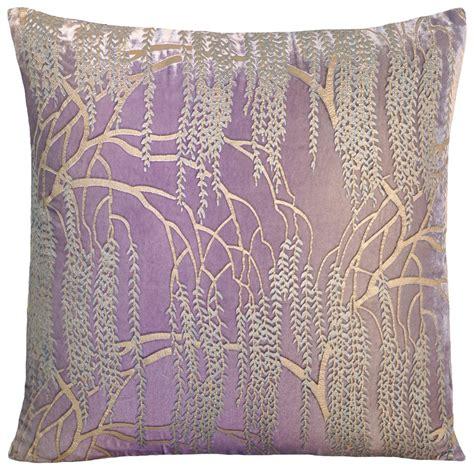 Pillow Willow by Metallic Willow Velvet Dec Pillow Bedding
