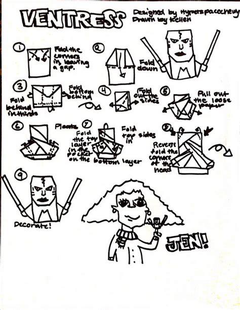 Origami C3po Finger Puppet - how to make origami wars www pixshark images