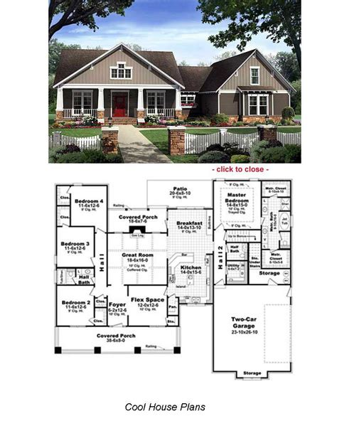 Home Plan Image by Bungalow Floor Plans Bungalow Style Homes Arts And