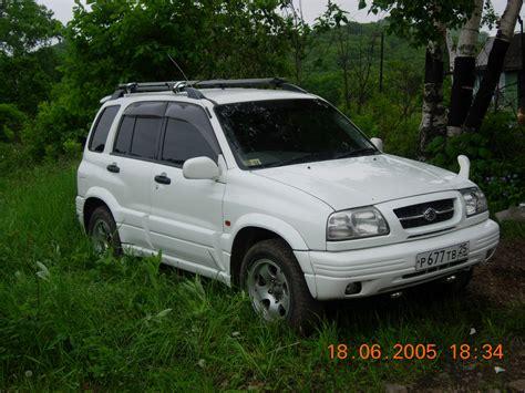 Escudo Suzuki 1998 Suzuki Escudo Pictures 2500cc Gasoline Automatic