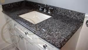 blue pearl granite vanity top with 4 quot backsplash ogee ege