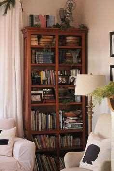 skies of parchment the cottage at 341 south kent bookcase pottery barn i fantasize about having a