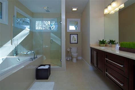 small master bath bellevue contemporary contemporary master bathroom with rain shower head by epic