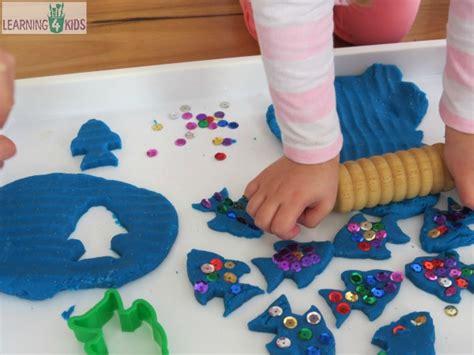 The Rainbow Fish Play Dough Activity Learning 4 Kids