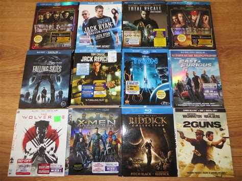slipcover dvd lot of 26 different blu ray or dvd movie slipcovers