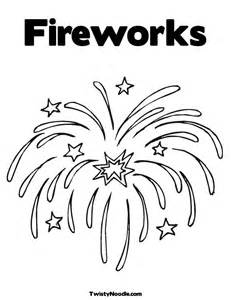 fireworks coloring pages free coloring pages