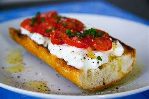 Cottage Cheese And Tomato by Cottage Cheese And Tomato On Baguette Breakfast I Will