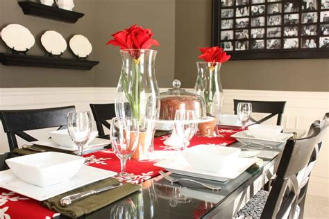 Christmas banquet table decorations with best centerpieces