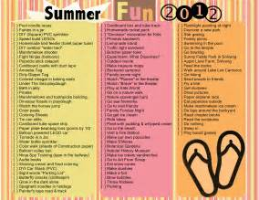 Summer to do list 2012 live laugh learn