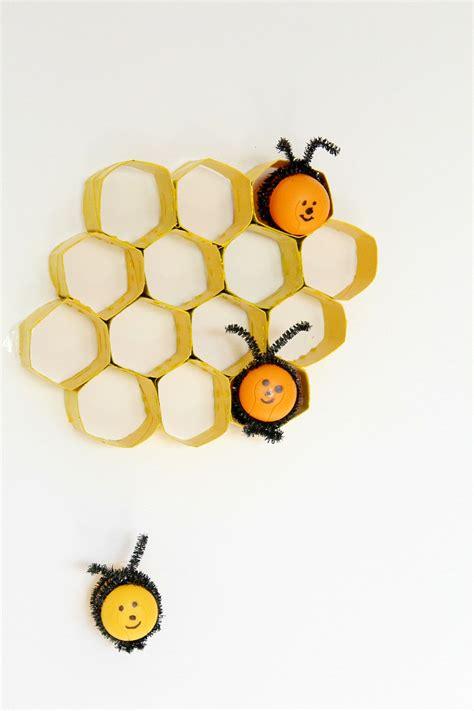 Halloween Crafts Using Toilet Paper Rolls - toilet paper rolls honeycomb tutorial