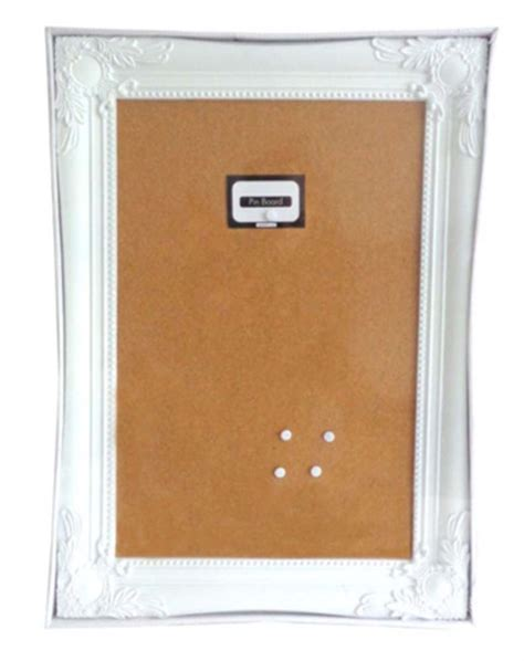 shabby chic memo board stylish shabby chic large cork pin memo board white