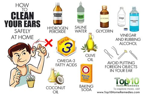 how to clean your ears safely at home top 10 home remedies