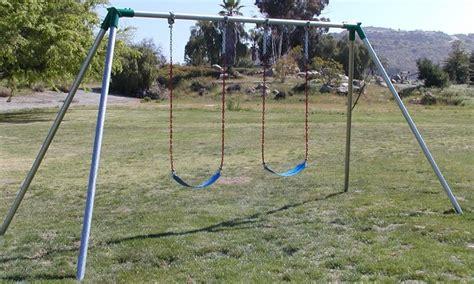 10 ft swing set jensen swing standard 10 ft high residential swing set