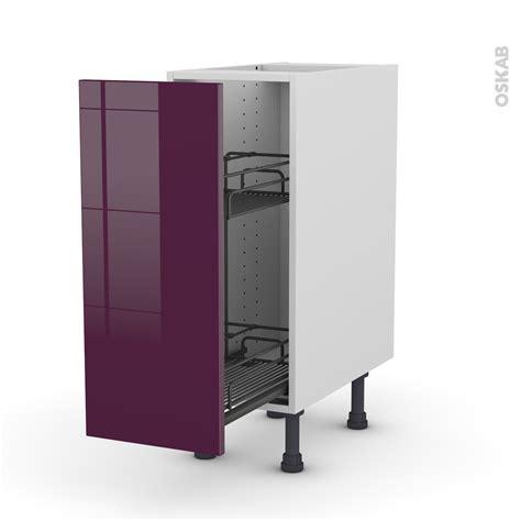 Meuble Epice Ikea meuble de cuisine range pice epoxy keria aubergine porte l