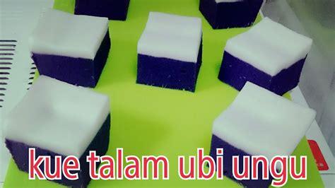 cara membuat warna ungu alami cara membuat ku talam ubi ungu youtube