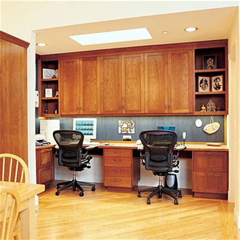 Kitchen Office Desk Family Workspace Home Office Ideas Sunset