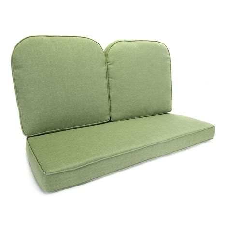 glider cusions hton bay fall river moss replacement outdoor glider