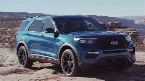 2020 Ford Crossover by 2020 Ford Explorer St 400 Horsepower Crossover