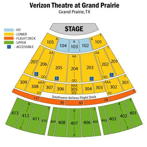 official verizon theatre grand prairie tx