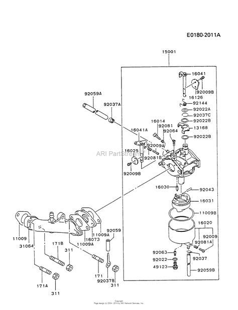 generac carburetor diagram imageresizertool