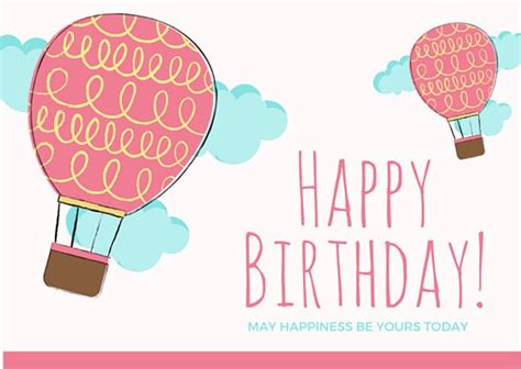 birthday card balloon template happy birthday card images happy birthday
