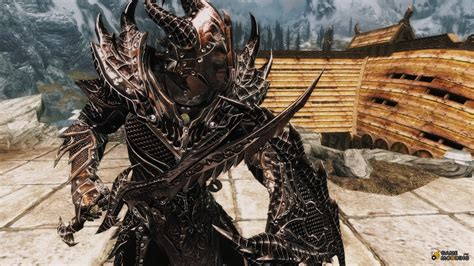 skyrim daedric armor and weapons daedric armor and weapon improvement for tes v skyrim