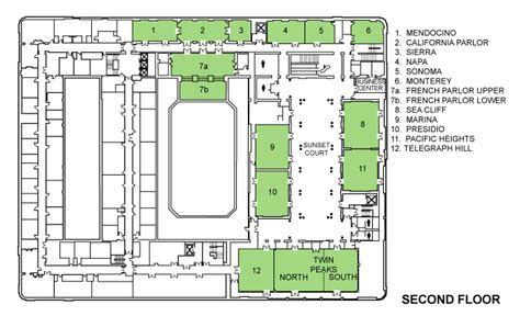 St Regis Floor Plan by Iccp 2009 Program
