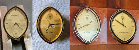 maserati biturbo clock hnnnng maserati retro rides
