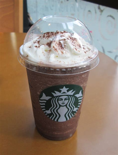 Coffee Frappuccino starbucks mouthful of