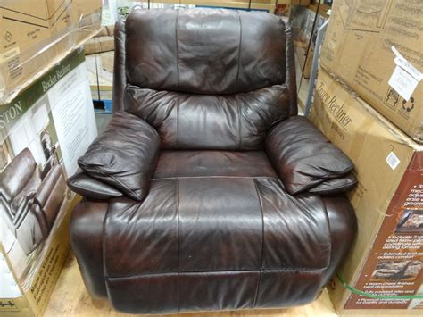 costco recliner 399 woodworth easton leather rocker recliner