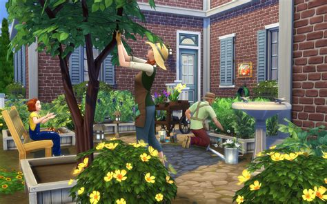 Gardening Sims 4 The Sims 4 Gardening Skill Guide Sims Community