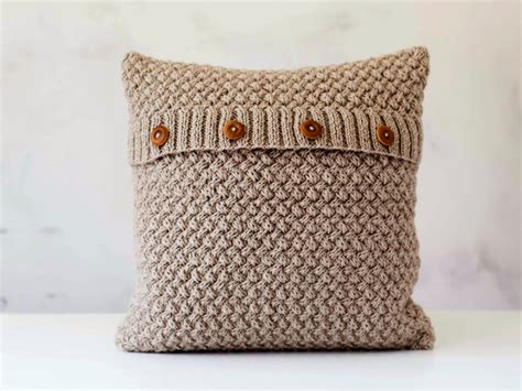 knit pillow knit pillow cover beige knitted chunky pillow minimalistic