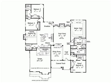 house plans with keeping rooms eplans country house plan vaulted keeping room 2319