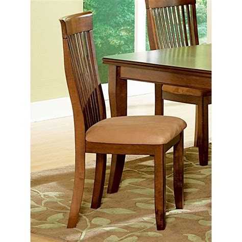 montreal side chair with slatted high backrest dcg stores