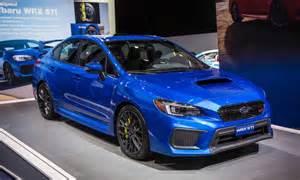 Wrx Subaru Subaru Releasing Refreshed 2018 Model Of Wrx And Wrx Sti