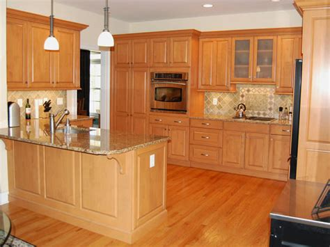 kitchen floor ideas with oak cabinets best home